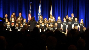 JCCC SINGING FOR PRESIDENT SHIMON PERES